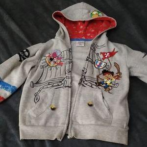 Disney hoodie Jake Pirates